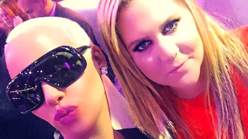 Amber Rose and Amy Schumer are the newest squad you can daydream about joining.