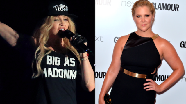 Amy Schumer and Madonna made a really exciting announcement.