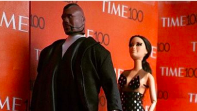 Amy Schumer shared a Barbie recreation of her prank on Kim and Kanye, and it's somehow not creepy.