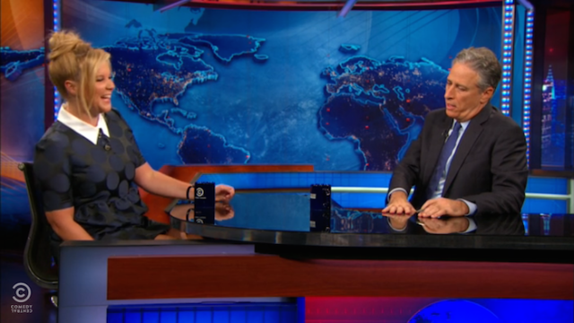 Amy Schumer went on 'The Daily Show' to address her friendship with Jennifer Lawrence.