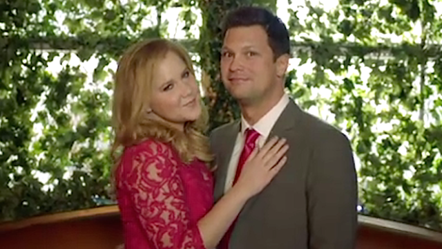 Amy Schumer mocks all those engagement photos cluttering your newsfeed on your behalf.