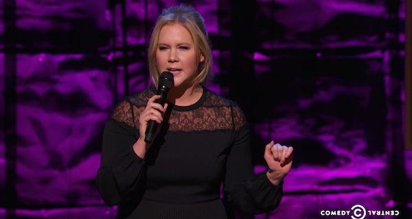 "Amy Schumer does a set about Hollywood thinking she's an uggo at ""Night of Too Many Stars."""
