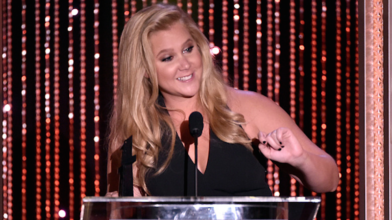 Comedian Amy Schumer says she actually really hates being famous.