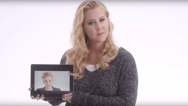 Amy Schumer outs Jennifer Lawrence for peeing in something you're not supposed to pee in.
