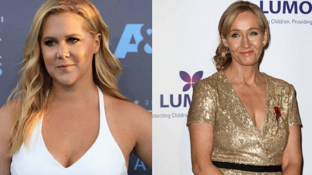 Amy Schumer and J.K. Rowling are talking on Twitter like it's the Gryffindor common room.