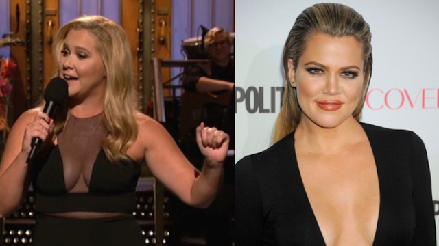 Feud averted: Amy Schumer responds to Khloé Kardashian's call-out on Twitter. All is right again.