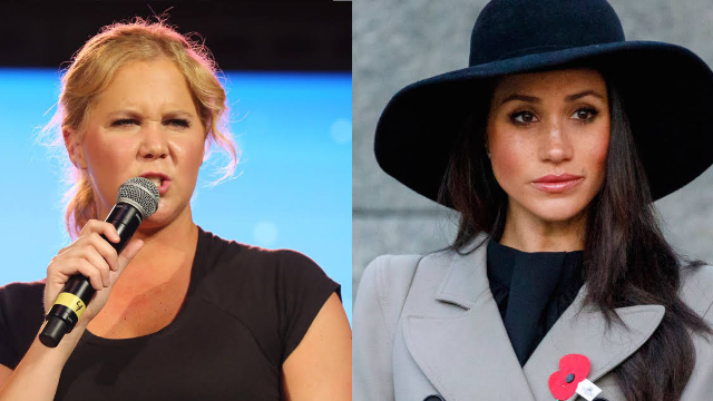 Amy Schumer explains why she thinks Meghan Markle's wedding is going to suck.