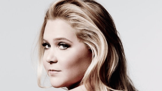 Amy Schumer unveiled her book cover and guess what? She's naked.
