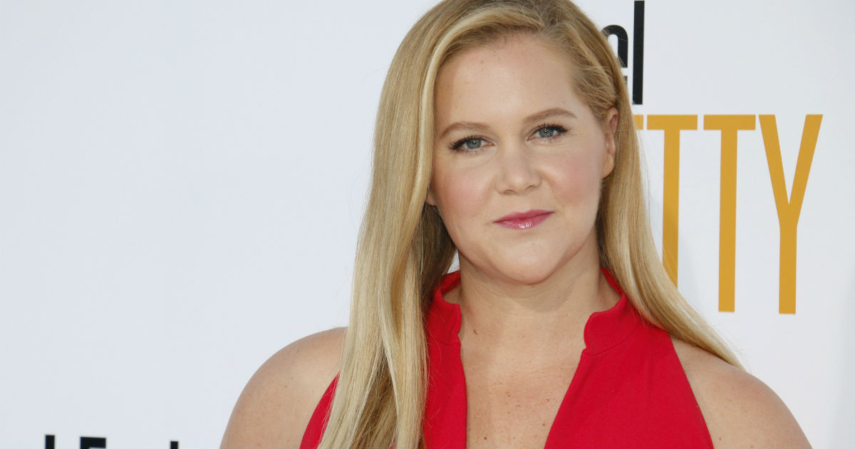 Amy Schumer photobombed a couple's engagement photos. Everyone's jealous.