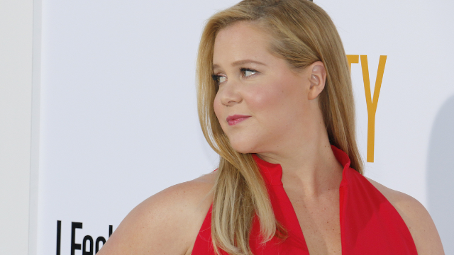 Amy Schumer's response to mom-shamers who criticized her underwear photo is peak Amy.