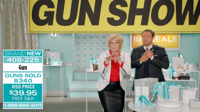 'Inside Amy Schumer' did a sketch about how easy it is to buy a gun, and it's merciless.