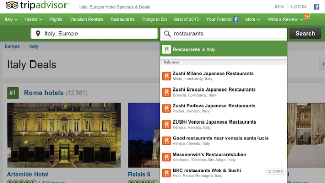 Italian Newspaper Creates Top Rated Fake Restaurant On TripAdvisor To Prove It Sucks