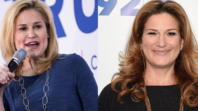 Ana Gasteyer 'confirms' conspiracy theory that she's playing the role of Ted Cruz's wife.