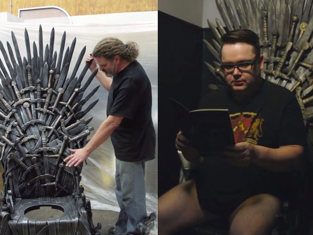 And so it's come to this: The Iron Throne toilet.
