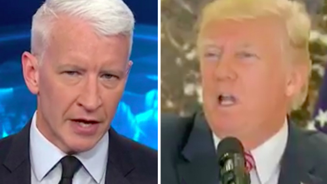 Anderson Cooper dissects Trump's Nazi-defense to expose him for 'what he really is.'