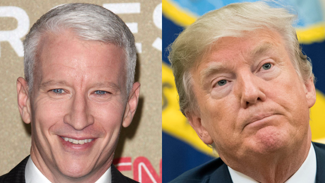 Anderson Cooper just went batsh*t on Trump over Twitter, then said it never happened.