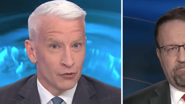 Anderson Cooper begs Trump official to stop distracting us with 'shiny objects.' Didn't work.