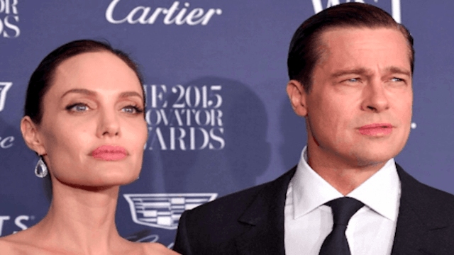 Angelina Jolie answers questions about Brad Pitt when she really just wants to talk about Cambodia.