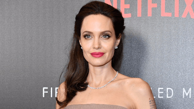 How Angelina Jolie changed up her hair post-divorce.