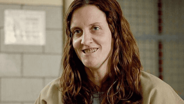 Angie from 'Orange Is the New Black' is literally unrecognizable off set.