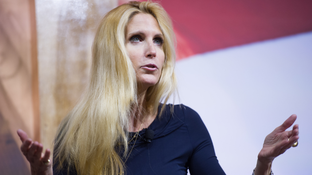 Ann Coulter has racist meltdown on Twitter after learning that ICE is a fan.