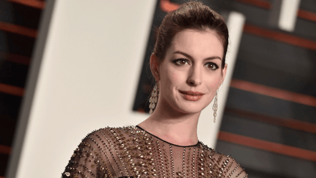 Here's why Anne Hathaway regrets posting this photo of her son.