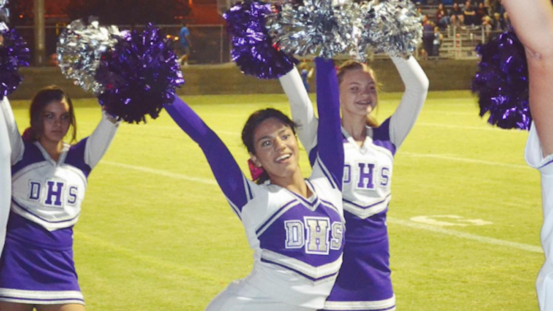 This girl just became the first transgender cheerleader at her high school.
