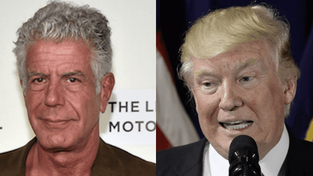 There's one meal that Anthony Bourdain wouldn't want to eat.