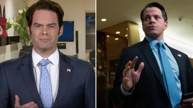 Anthony Scaramucci saw Bill Hader's impression of him and he has some notes.