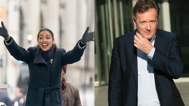 Piers Morgan got dragged when he claimed Ivanka Trump is more qualified than 'bartender' AOC.