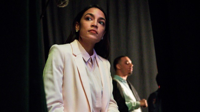 AOC responds to conservatives criticizing her outfit on the cover of 'Vanity Fair.'