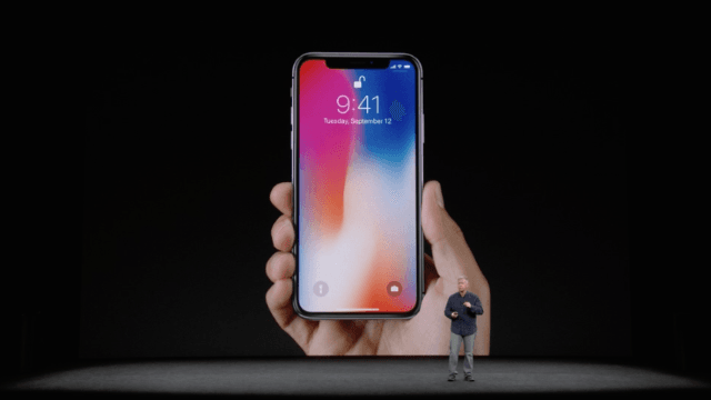 Apple just dropped the killer new iPhone X.
