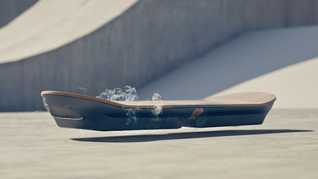 Are hoverboards real now? Or are these Lexus hoverboards yet another hoverboard hoax?