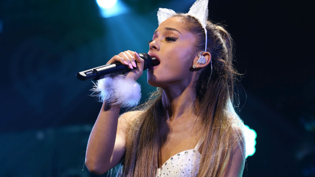 Ariana Grande's brand new hair color is almost as intense as her brand new relationship.