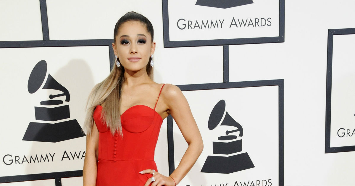 Ariana Grande responded to Pete Davidson's Instagram post about bullying in the classiest way.