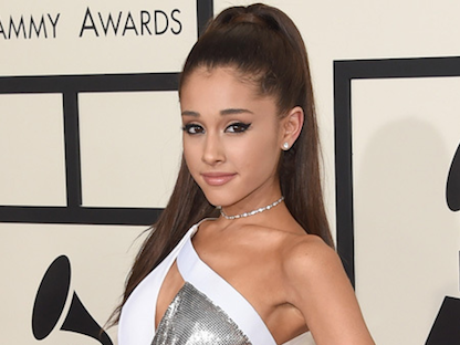 Ariana Grande shut down a troll on Instagram who insulted her boob size.