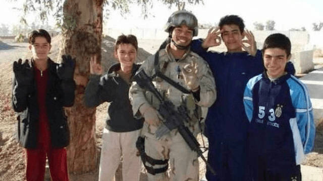 Veteran tells the incredibly moving story of an Iraqi boy he thought he'd never see again—but did.