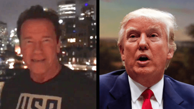 Arnold Schwarzenegger releases video rant hitting Trump where it hurts: the ratings.