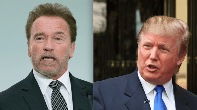 Arnold Schwarzenegger will not stand for Trump saying he was fired from 'The Apprentice.'