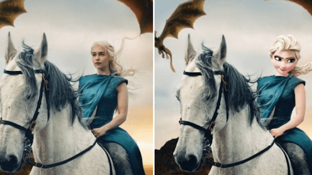 This artist photoshops Disney characters into 'Game of Thrones' and manages to improve them both.