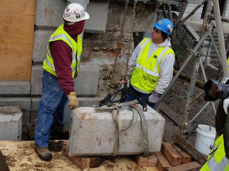 As far as we know, this is what's inside the 1795 time capsule from Paul Revere and Sam Adams.