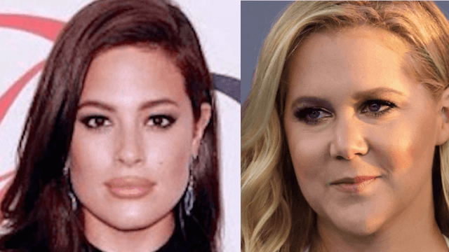 Ashley Graham wasn't too happy about Amy Schumer's plus size comments. Schumer responded.