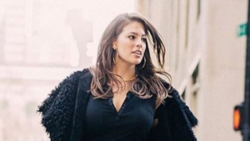 Plus-size model Ashley Graham doesn't want you to call her a 'real woman.'