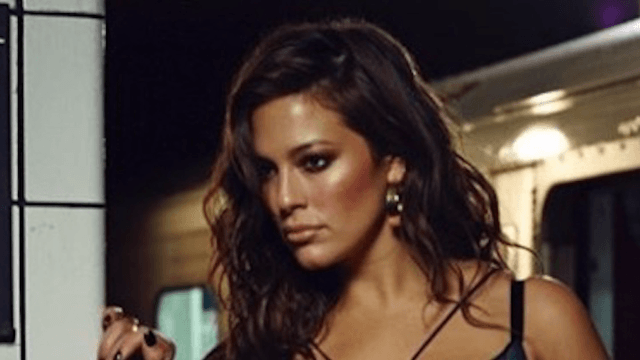 Model Ashley Graham shares a subway lingerie video that's as sexy as it is unsanitary.