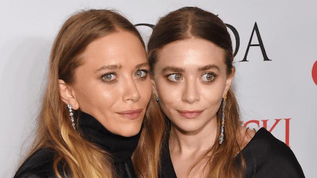 Ashley Olsen seems to share her sister's interest in older men.