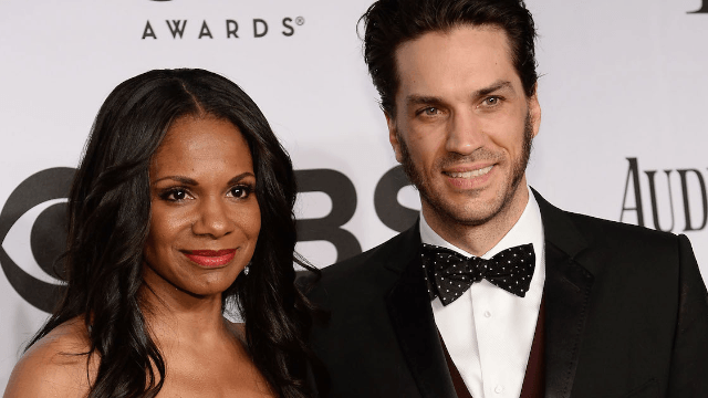 Audra McDonald has jumped on the latest celebrity trend: getting pregnant after 40.