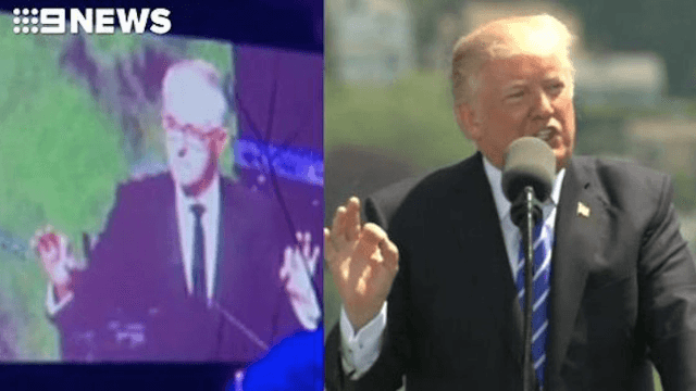 Australia's leader mocked Donald Trump in leaked audio. Guess we're going to war now.