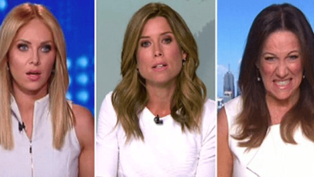 Australian TV host's behind-the-scenes meltdown over a guest's shirt is very Regina George.