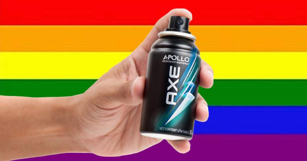 Axe Body Spray destroyed a homophobe, proving they're one of