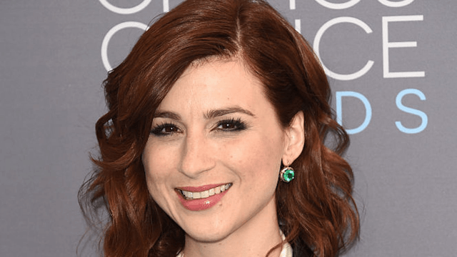 Actress Aya Cash shows the different 'modesty' garments she wears for cable vs. network sex scenes.
